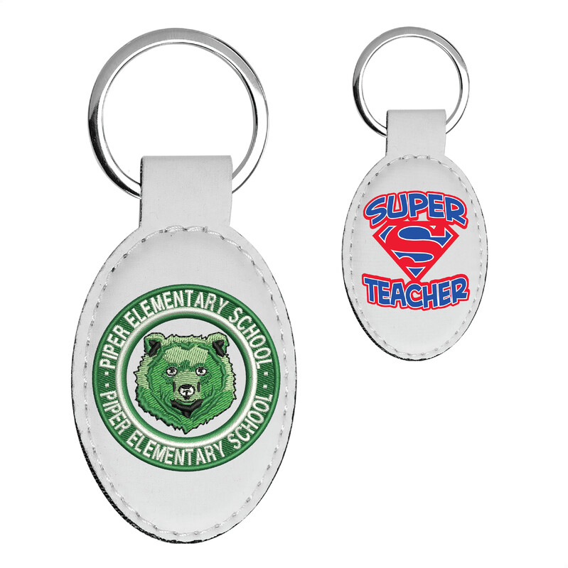 Piper Keychain (Oval 3