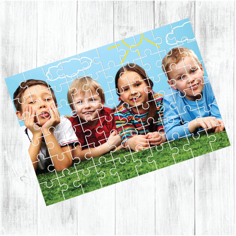 Rectangular Shaped Photo Jigsaw Puzzle (60 Pieces)