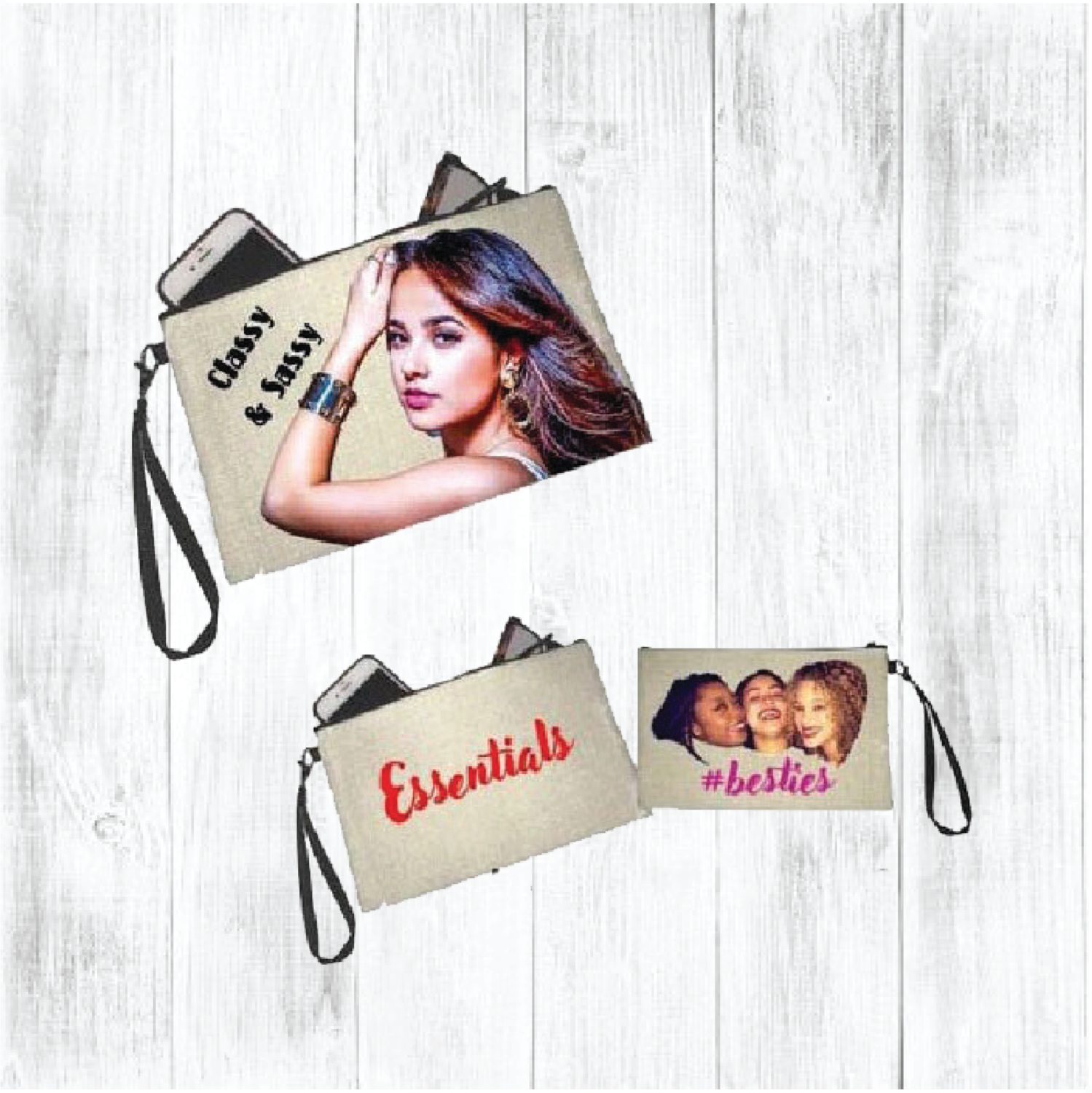 Personalized Photo Cosmetic Bag