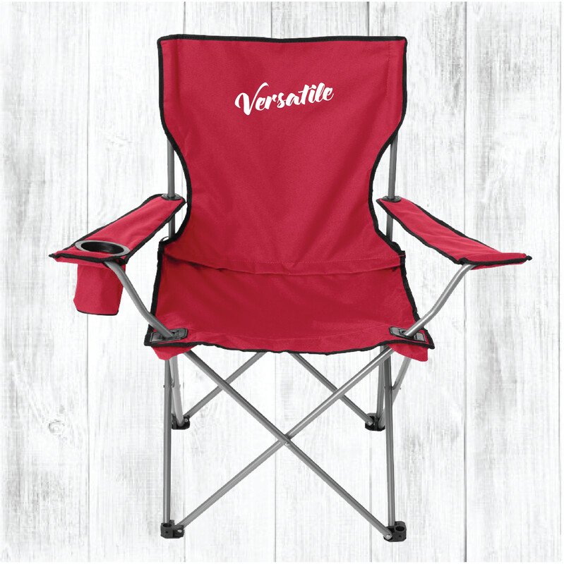 Custom Embroidered Large All-Star Chair (Red)
