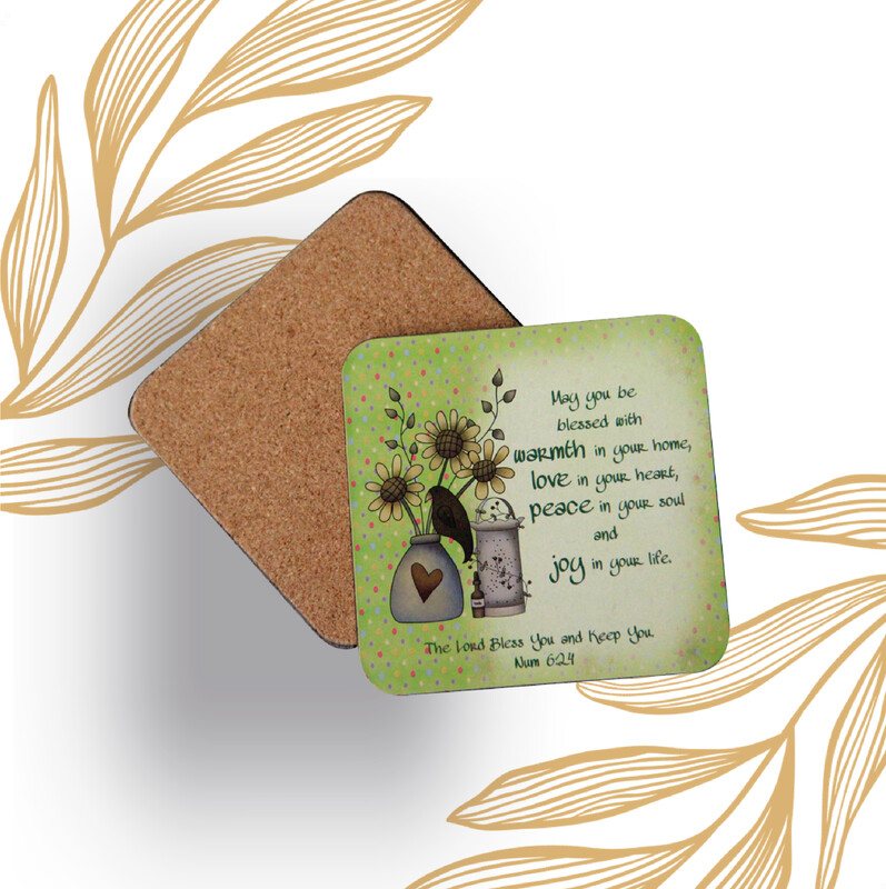 Personalized Photo Square Shaped Coasters