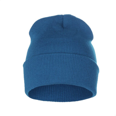 Custom Embroidered Adult Cuffed Beanie (Teal)