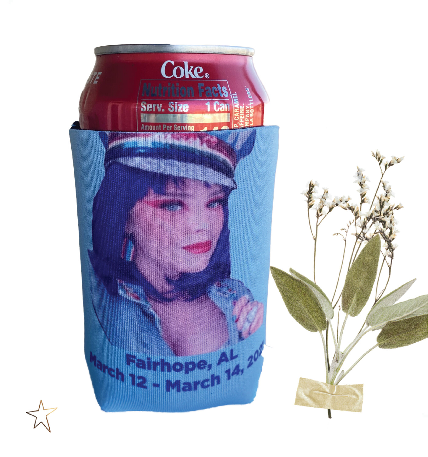 Personalized Photo Can Cooler / Insulator for 12 oz.