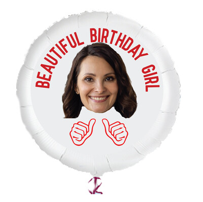"Personalized Photo Helium Balloons (23"")"