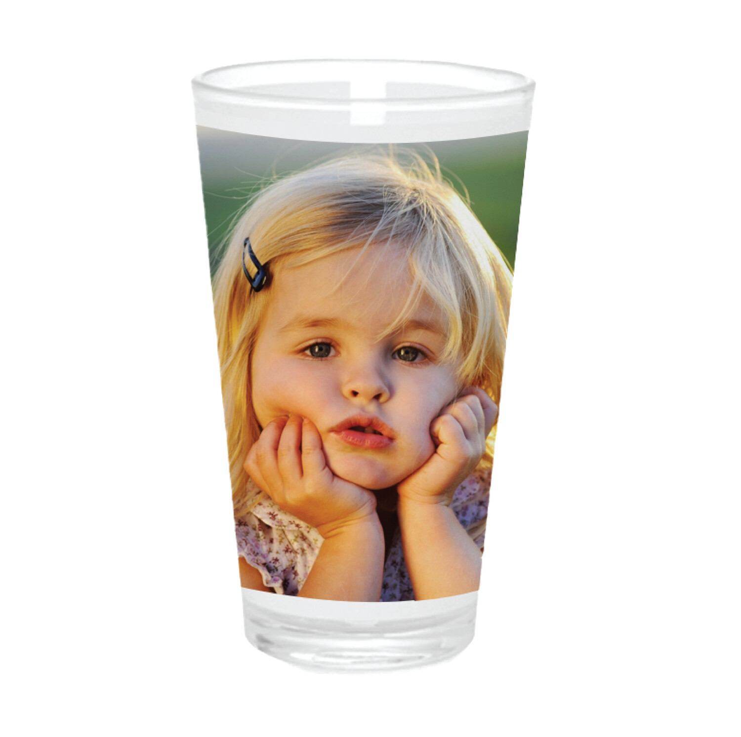 PERSONALIZED | PHOTO | PINT BEER GLASS | 16oz