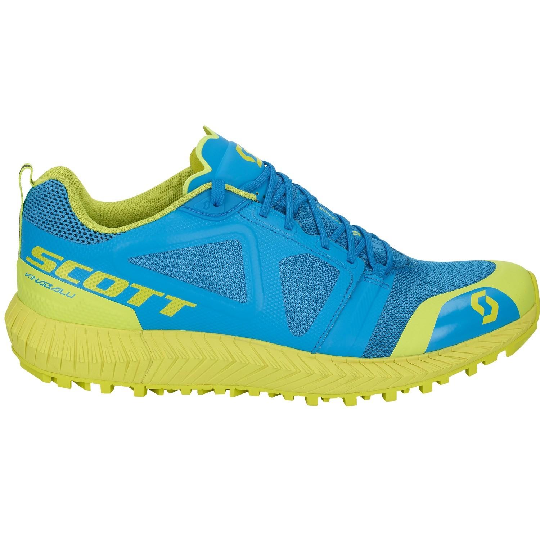 Scott Kinabalu heren blue/yellow