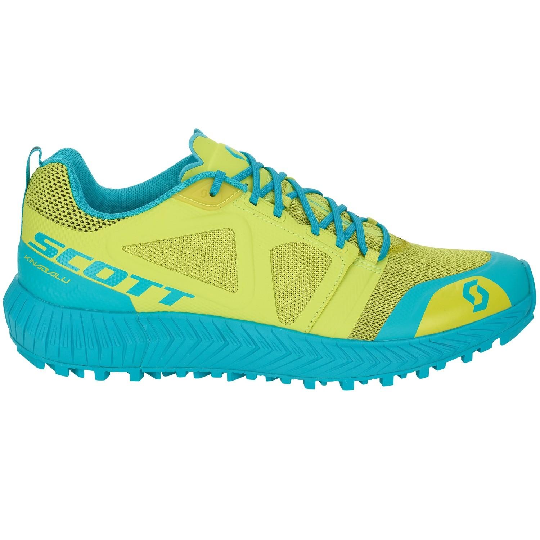 Scott Kinabalu dames yellow/blue