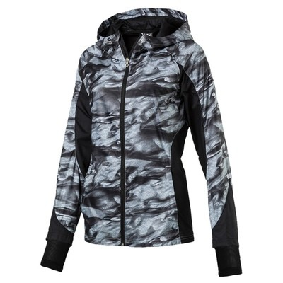 Puma Graphic Jacket dames zwart