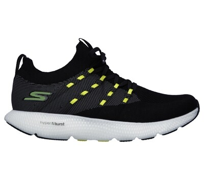 Skechers GO RUN 7 heren black/white
