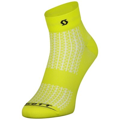 Scott Performance Sock geel