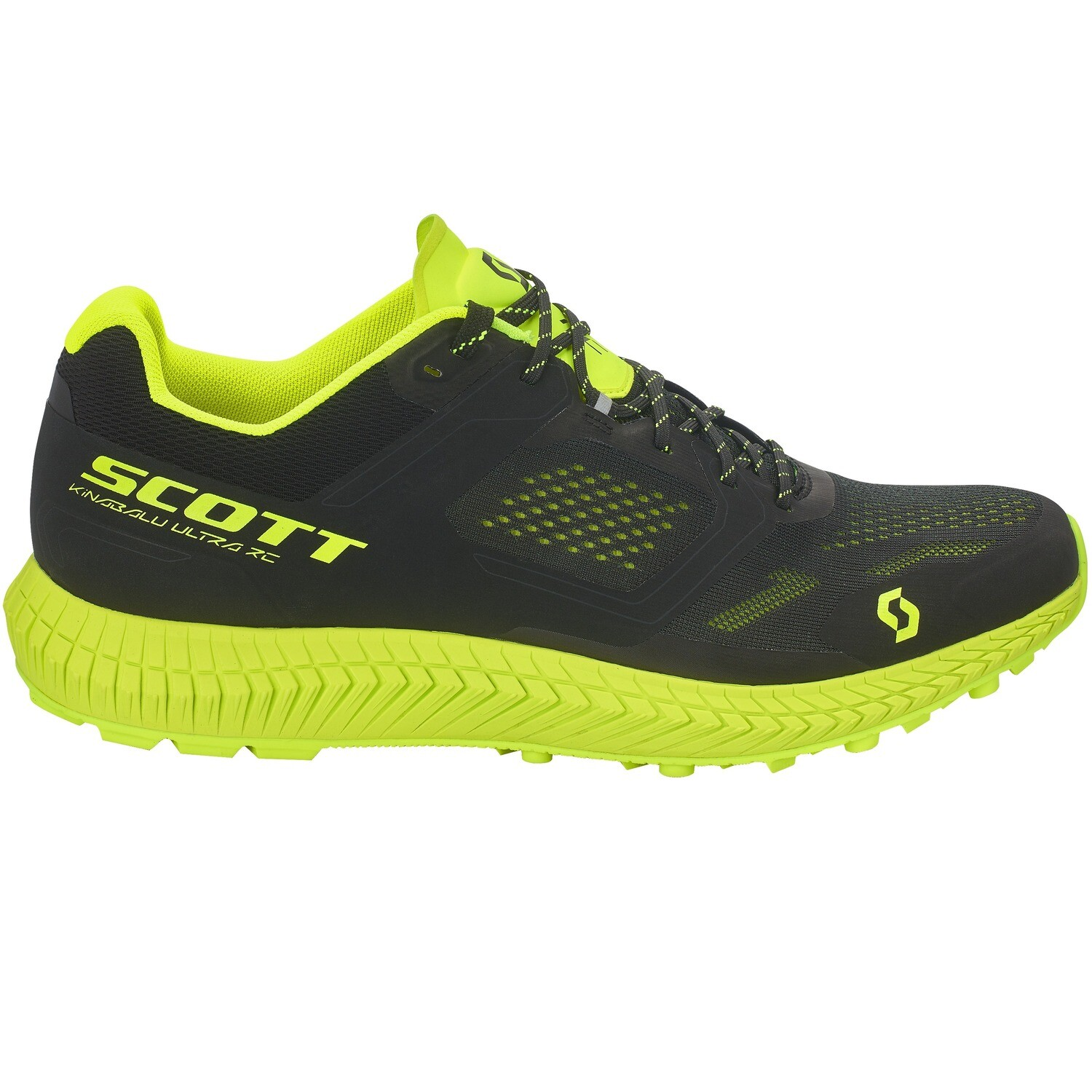 Scott Kinabalu Ultra RC heren black/yellow