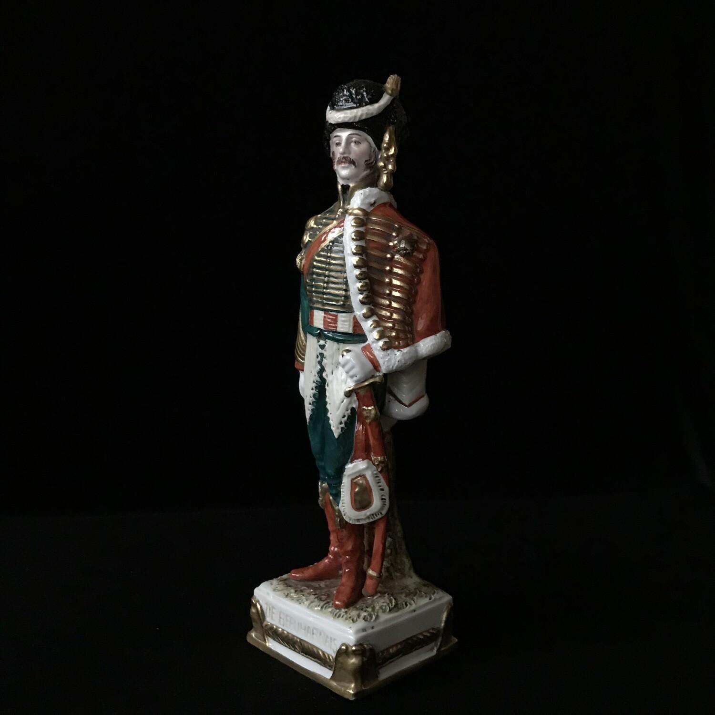 "Фарфоровая статуэтка ""Принц Евгений"", Scheibe-Alsbach"