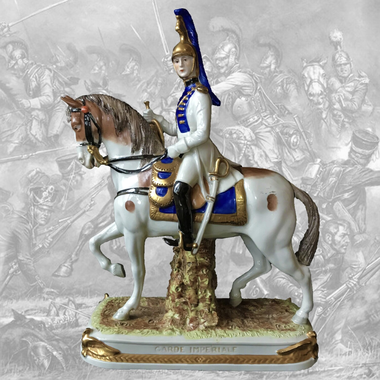 "Фарфоровая статуэтка ""Имперская гвардия"", Scheibe-Alsbach"