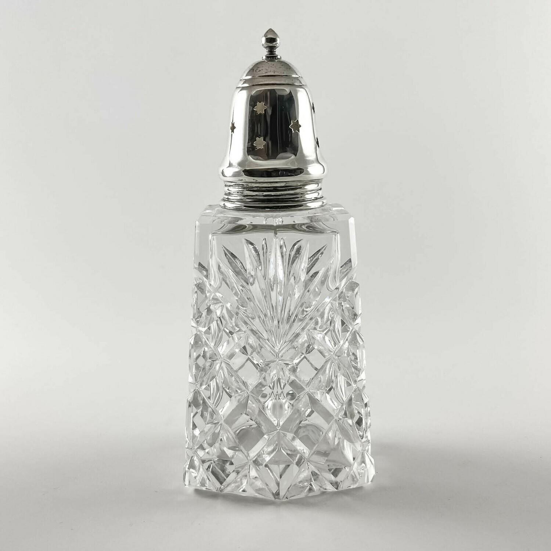Хрустальная сахарница с серебром «Пикадилли»