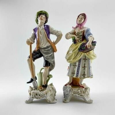 Фарфоровые статуэтки Rudolf Kammer