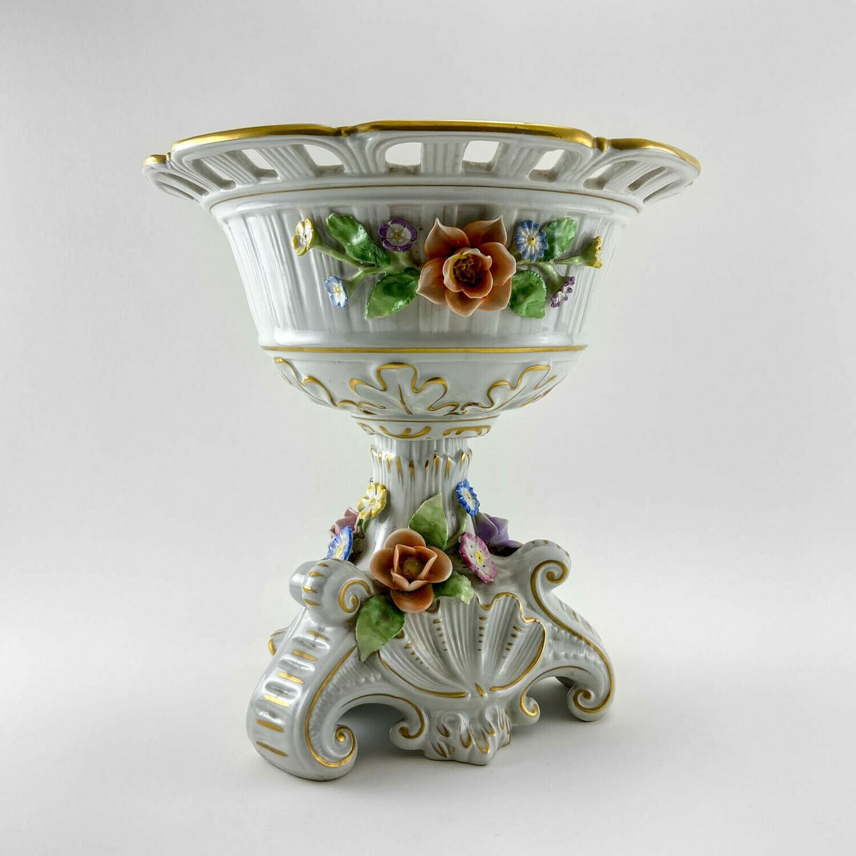 "Фарфоровая ваза для фруктов ""Brume"", Plaue"
