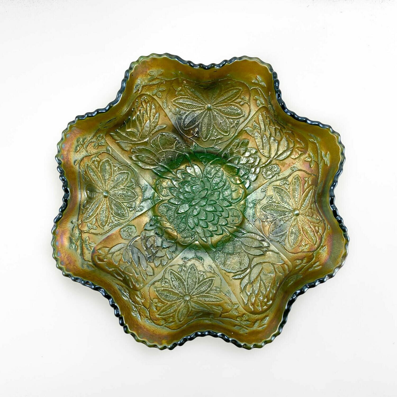 "Сервировочная тарелка ""Lotus and Poinsettia"""