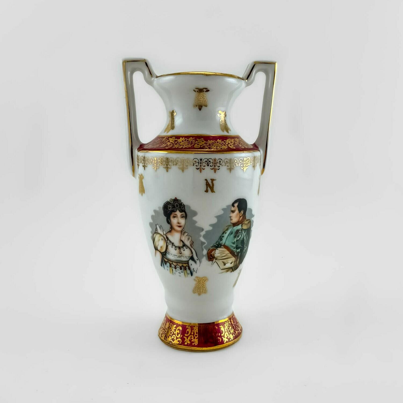 """Фарфоровая вазочка """"Наполеон и Жозефина"""""""