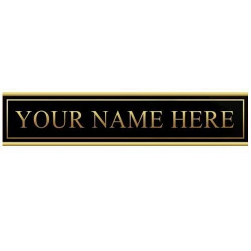 """9""""x12"""" Manager On Duty Extra Nameplate"""