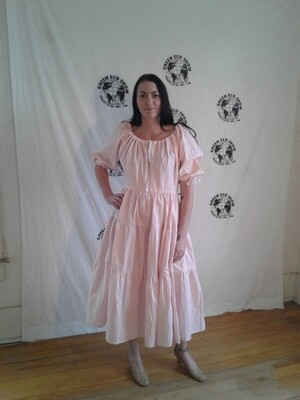 Western striped Dress S made in USA