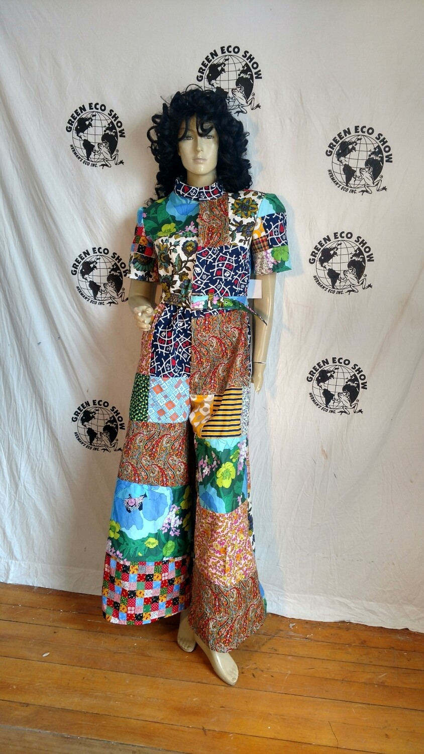 Womens patchwork jumpsuit  m USA