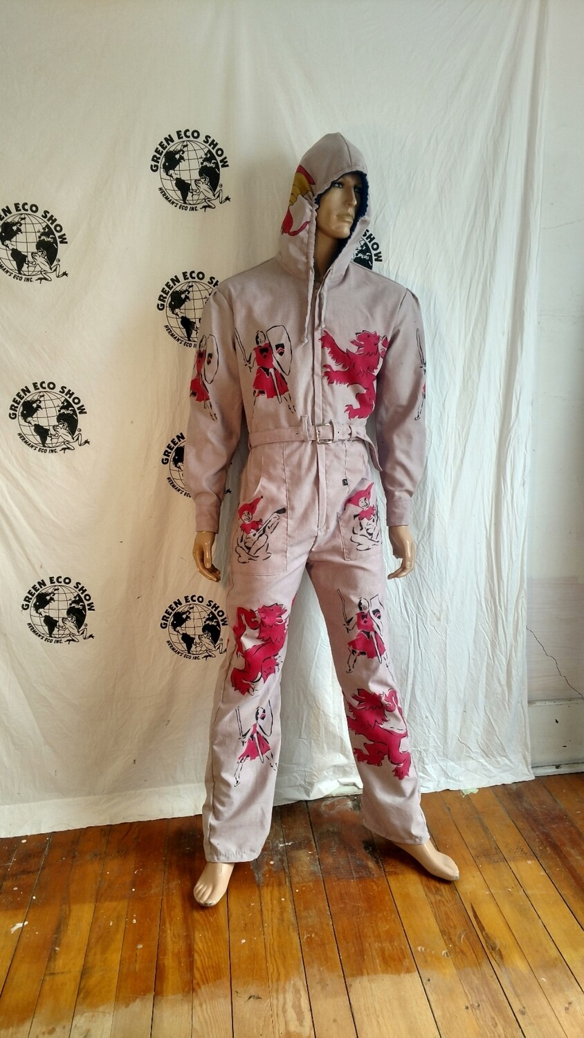 Knight Griffin Hoodie mens Jumpsuit L Hermans USA