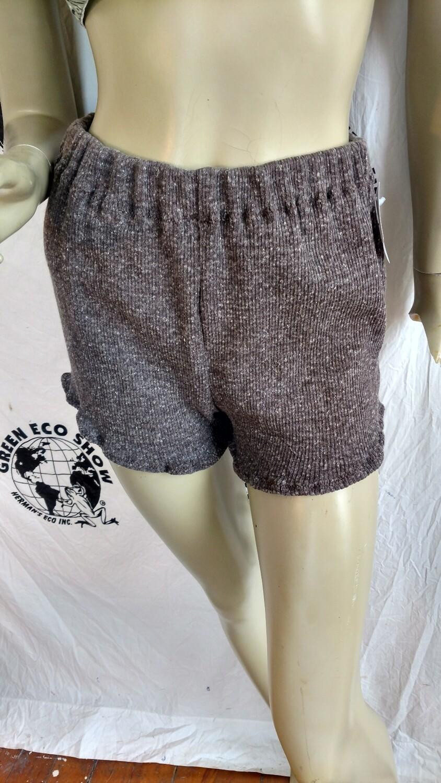 Womens Knit shorts hot pants Med Hermans