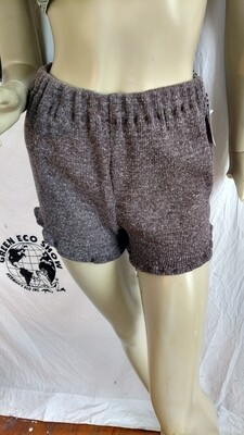 Womens Knit shorts hot pants Med Hermans
