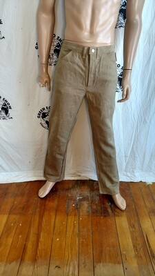 Hermans Hemp jeans  33 X 32 made in USA