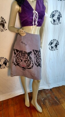 Hermans Hemp Tiger Skirt 28