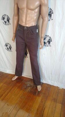 Hermans Hemp Jeans 32 X 34 USA Brown
