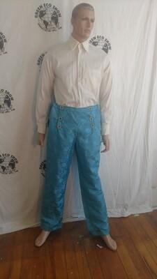 Mens Brocade Steampunk pants 38 Hermans Eco USA