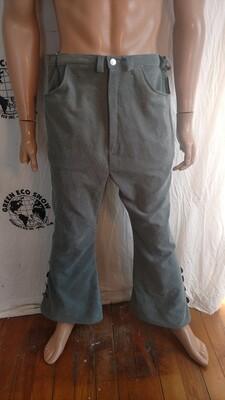 Mens corduroy Bell bottom jeans 38 X 30