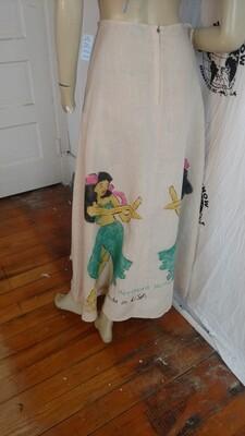 Hula Girl Skirt Med Hermans Hemp made in USA