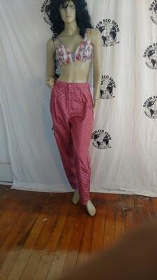 Womens pants satin blend Rose Med Hermans Eco USA