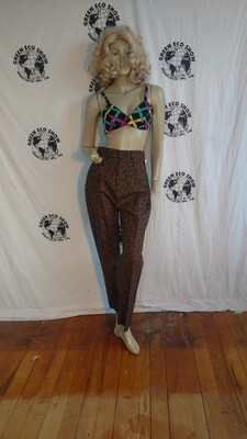 Womens Paisley pants med 27