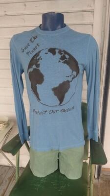 Hermans Hemp t shirt S to M Gramicci hemp organic cotton