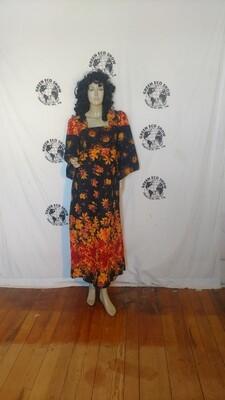 Fall dress Sz 6 Anna Herman cotton USA