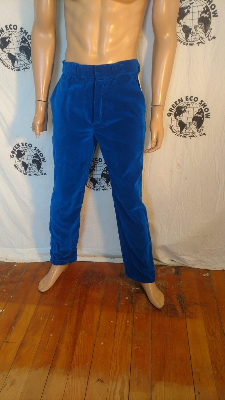 Mens Velvet suit pants 32 x 31 Hermans Eco Steampunk