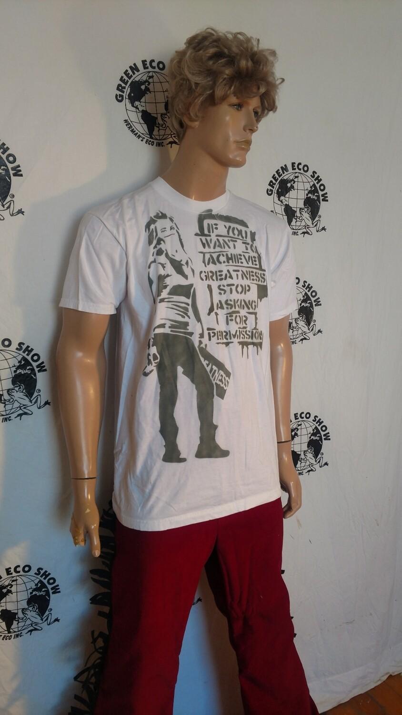 Spray can girl turtle grafitti 5 shirt L