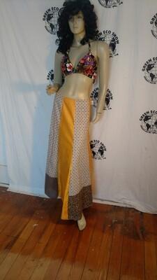 Patchwork skirt w 28 Anna Herman festival