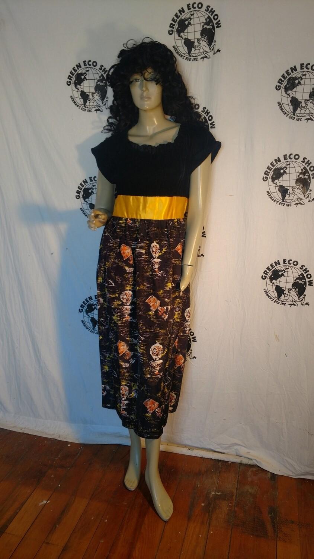 Velvet Lantern Gypsy Dress Anna Herman med USA