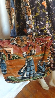 Dancer Shiek Carpet Bag Hermans Eco tapestry bag