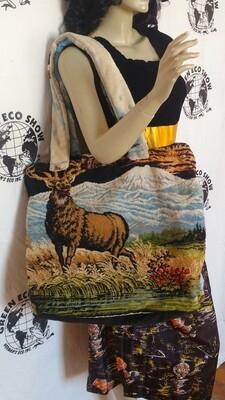 Elk Carpet Bag repurposed Hermans Evo