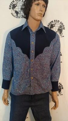 Cowboy Shirt original details Rayon Hermans