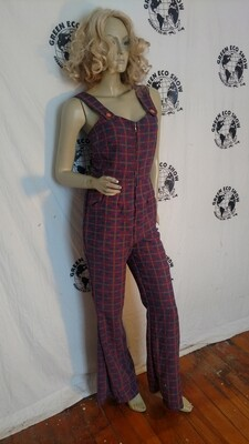 Womens Jumpsuit S Anna Herman USA