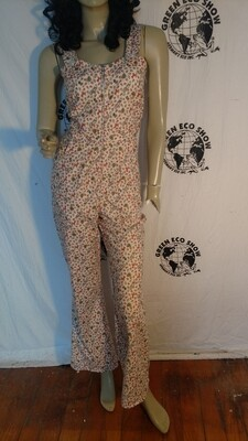 Womens jumpsuit S bells bikes Hermans Eco USA