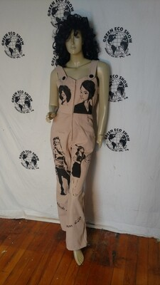 Hermans Eco womens jumpsuit S airbrushed