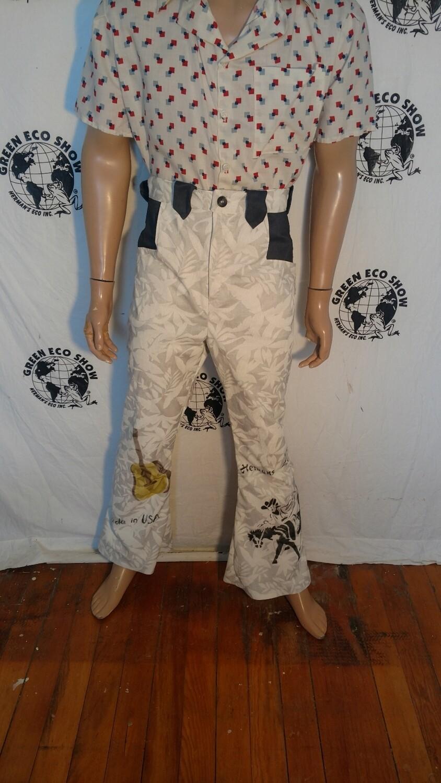 Mens western cowboy pants Hermans Eco USA