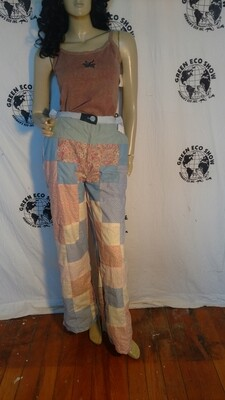 Womens patchwork bells pants Anna Herman USA